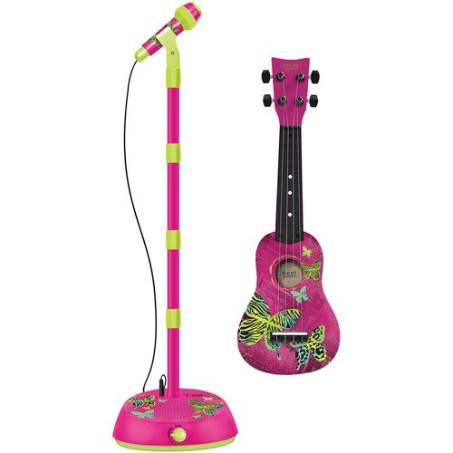 First Act Deluxe Music Star Guitar Microphone Amplifier Ages 4+