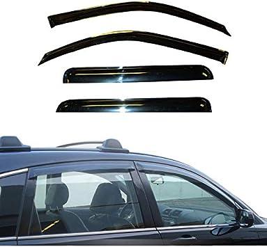 Fit 04 05 06 07 08 Nissan Maxima Rain Guard Window Visor Wind Deflector 4pcs