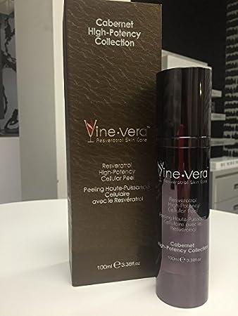 Amazon Com Vine Vera Resveratrol High Potency Cellular Peel Cabernet Collection 100ml Beauty
