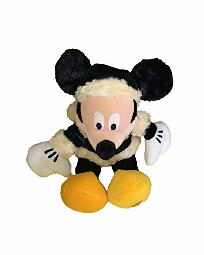 (Christmas Traditions Mickey Mouse Bean Filled Plush)