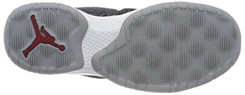 Nike Jordan B. Fly, Scarpe da Basket Uomo Grigio (Wolf Grey/Gym Red-black-white)
