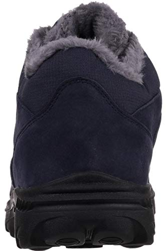 WHITIN Weather Cold Insulated Nylon Navy Men's Boots Nubuck qTrqUAw