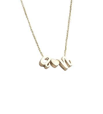 Amazon minimalist initials necklace cursive gold initial minimalist initials necklace cursive gold initial script letter custom initial necklace aloadofball Image collections