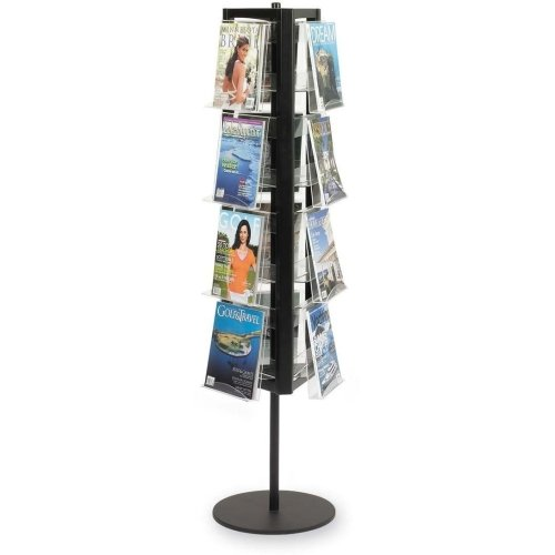 SAF4113BL - Safco Rotary Literature Display Rack Rotary Literature Display Rack