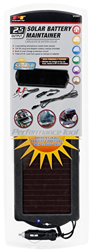 Performance Tool W2997 Maintainer Solar Battery Charger (2.5 ()