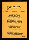 img - for Poetry for October 1955 book / textbook / text book