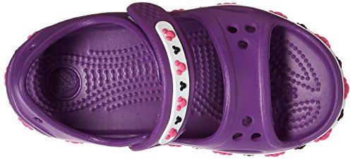 Crocs Crocband II Mickey PS Sandal (Toddler/Little Kid) Amethyst 2qEvVN