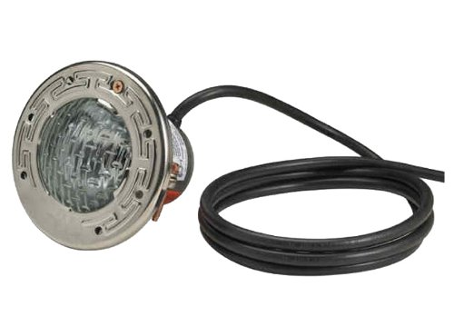 Pentair 77310100 Stainless Steel AquaLight Halogen Quartz Light 120-Volt 100-Watt, 100-Feet Cord (Volt 100' Cord)