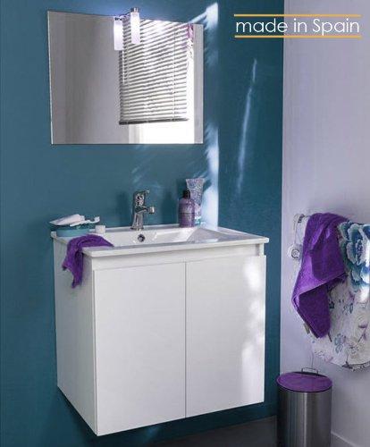 Lavabos con mueble baratos mueble de bao para lavabo de for Amazon lavabos
