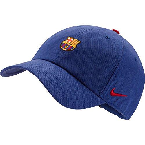 Nike Unisex FC Barcelona Heritage86 Cap [DEEP Royal Blue] (MISC)