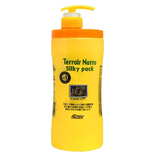 Terroir Natto Silky Pack Hi Power LPP 33.8oz /1000ml Hair Pa