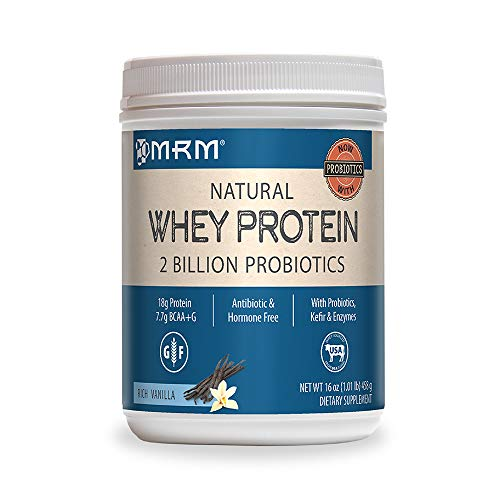 MRM - Whey Protein Powder, Maximum Muscle Growth and Development, with Essential Amino Acids (Rich Vanilla, 2 lbs) (Best All Natural Whey Protein Powder)