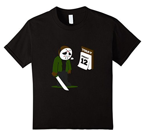 Kids Friday the 12th Funny Jason Shirt 10 (Friday The 13th Costumes)