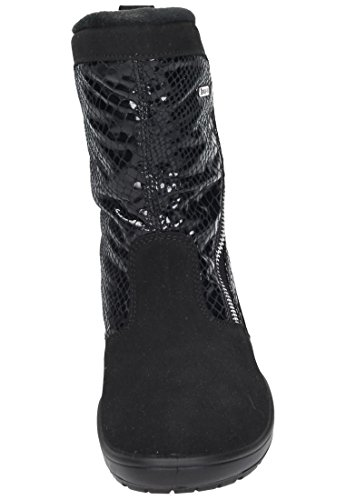 womens Manitu schwarz 990980 schwarz 1 Stiefel SZBPx8
