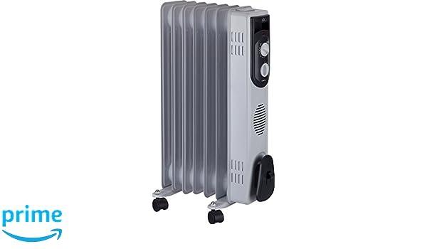 Jata R107 Radiador de Aceite con 7 Elementos caloríficos, 1500 W, Blanco: Amazon.es: Hogar