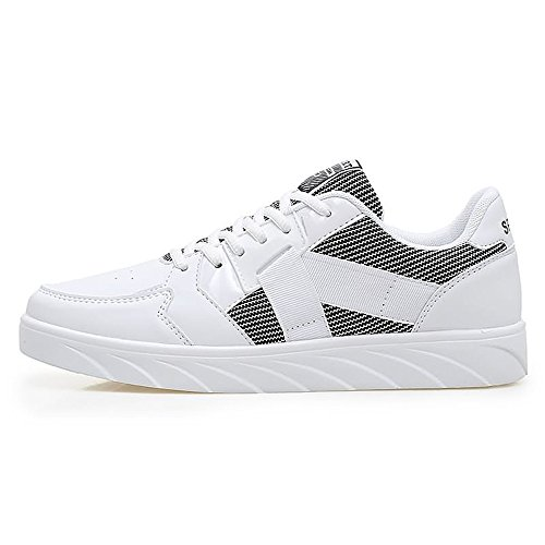 Uomo Bianco EU 43 White shoes Shufang Mocassini 5 qFExp
