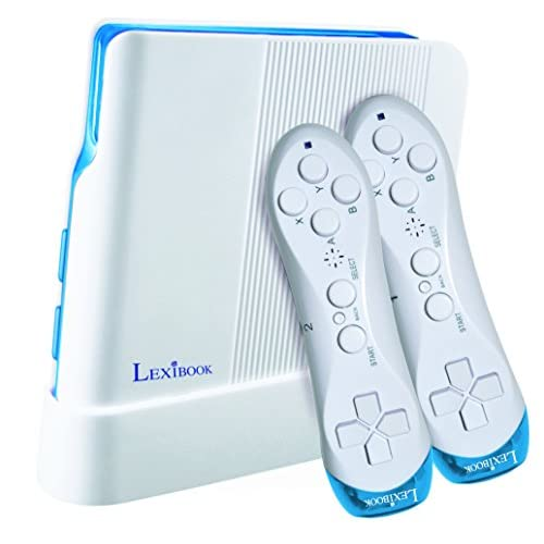 LEXIBOOK (JG7425 Consola de Videojuegos, 221 Juegos y Controladores inalámbricos, Blanco/Azul, Color Lexiboook a buen precio