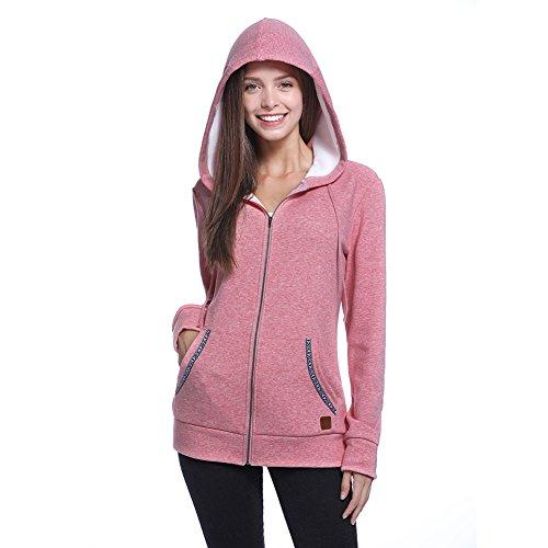 Zipper Fleece Sweatshirt - 8