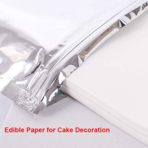 (Yoton 210297mm 10x A4 Edible Paper Customized Food Paper for Cake Decoration,for Party Cake Decoration)