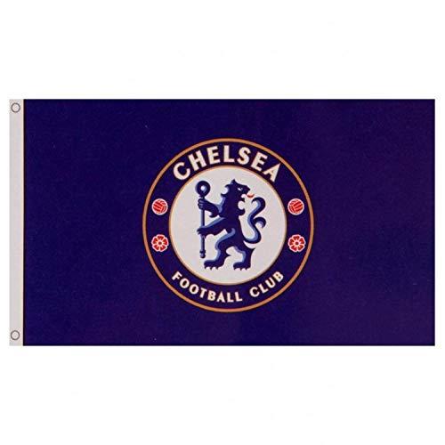 Chelsea FC Flag CC - Approx. 3' x 5' Large Team Crest ()