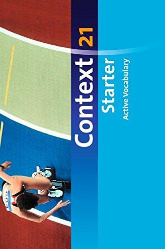 Context 21 - Starter: Active Vocabulary: Vokabeltaschenbuch