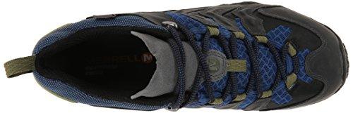 Merrell GTX Vent Rock Blue de Chameleon Shift Montantes Gris Chaussures Homme Randonnée Castle qqrnawFxB