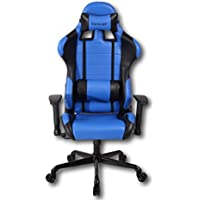 Viscologic Series Cayenne Gaming Racing Style Swivel Office Chair (Blue & Black)