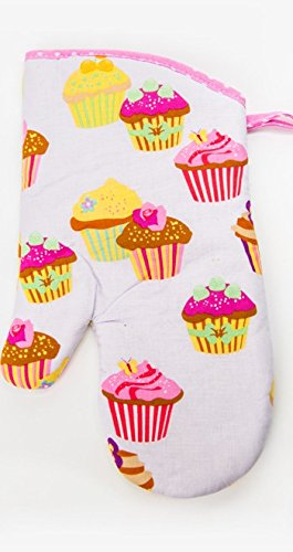 Flirty Aprons Oven Mitt, Frosted Cupcake