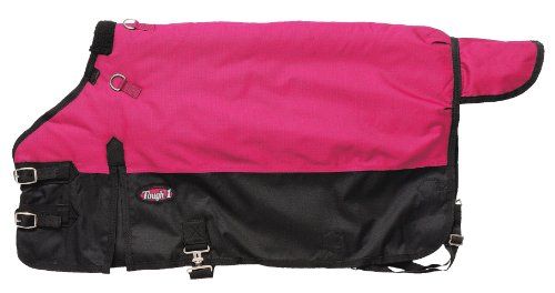 aterproof Poly Foal Blanket, Pink, Small ()
