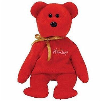6e864ceb361 Ty Red Beanie Baby Bear Hamley The Bear (UK Hamleys Store) by Ty
