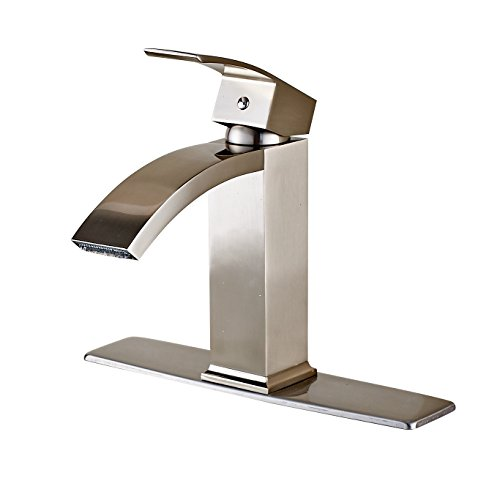 8 in brushed nickel faucet - 7