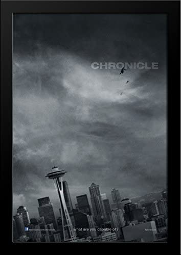 Amazon.com: Chronicle 28x36 Large Black Wood Framed Movie Poster ...