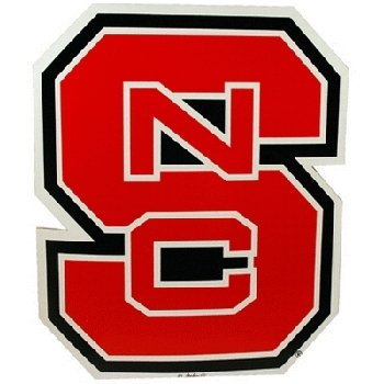 NCAA North Carolina State Wolfpack Car Magnet (Large, 2 Pack) by Game Day Outfitters