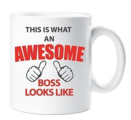 This is What An Awesome Boss Looks Like Mug Gift Cup Ceramic Work