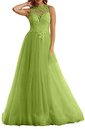 Abschlussballkleider Gruen Champagner Abiballkleider Marie Linie Prinzess Olive Damen La A Braut Abendkleider qPfBTPYx