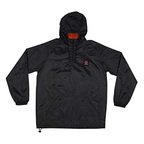 ve Cross Pullover Anorak (Black/Red) Jacket-Medium ()