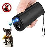 Vantax Handheld Dog Repellent & Trainer, Anti Barking Device LED Flashlight, Ultrasonic Dog Deterrent Bark Stopper + Dog Trainer Device