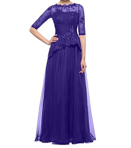 Festlichkleider Partykleider Abendkleider Regency Mit Langarm Kleider Charmant Spitze Damen Damen Brautmutterkleider 1BXvxIq4