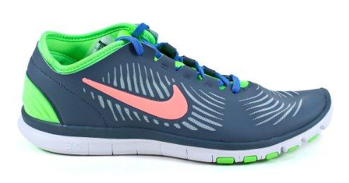 Zapatos De Entrenamiento Nike Free Balanza Para Mujer 599268-400 Armory Slate / Atomic Pink