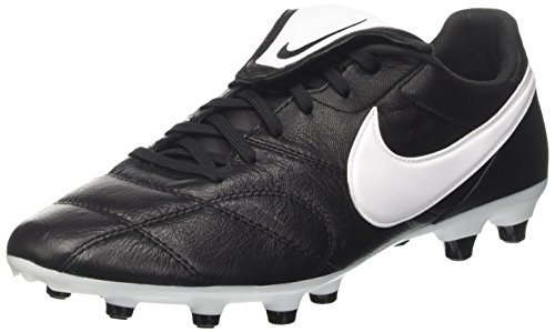 en's Firm-Ground Soccer Cleats (9 D(M) US) Black/White ()