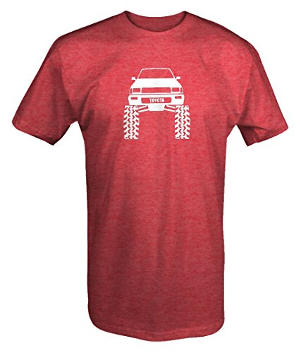 Toyota SR5 4Runner Offroad Lifted Mud Tires Truck T shirt - Large