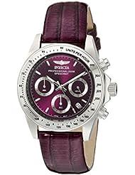 Invicta Womens 18372 Speedway Analog Display Japanese Quartz Purple Watch