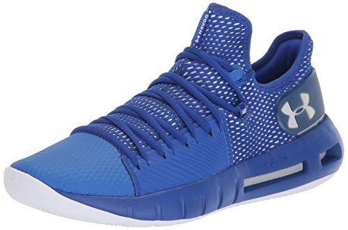 Customized Basketball Shoes - Under Armour Men's Drive 5 Low Basketball Shoe, Royal (402)/White, 13