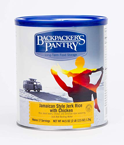 (Backpacker's Pantry Jamaican Jerk Rice with Chicken, 44.5 Ounces, # 10 Can )