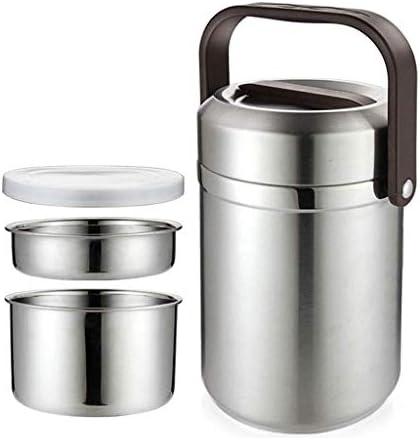キッズ大人の学校事務の旅行のためのサーモスフードジャー保冷ランチコンテナ真空断熱ランチボックスリークプルーフコールドホット食品容器ステンレス鋼のスープ魔法瓶