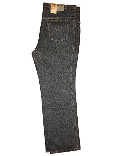 Mascoti Herren Jeans Black stone washed, Gr. W52/L34