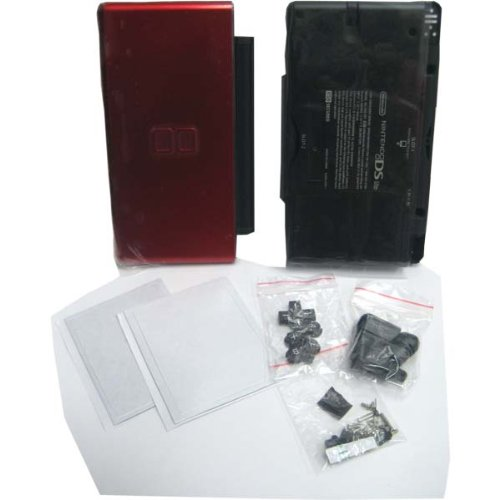 Crimson Red & Black Lite Complete Full Housing Shell Case