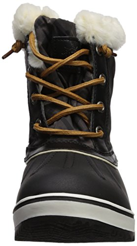 Global Win GLOBALWIN Womens 1632 Black Grey Snow Boots 1727black nqPy5