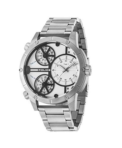 Policía cascabel pl14699js.01M para hombre reloj de pulsera diseño highlight