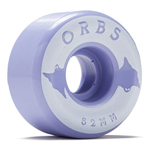 Welcome Orbs Specters Conical 100A Solids Skateboard Wheels - Lavender - 52mm (Welcome Skateboards Wheels)